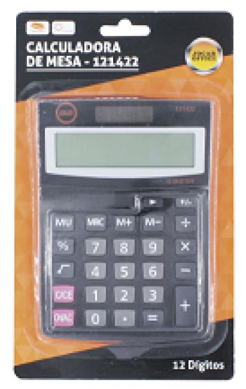 JOCAR OFFICE - CALCULADORA DE MESA 12 DIGITOS 6148 - UN