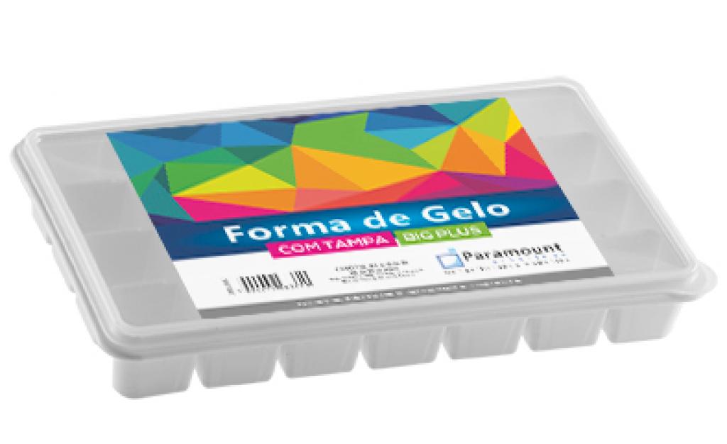 PARAMOUNT - FORMA DE GELO COM TAMPA BIG PLUS - UN (846)