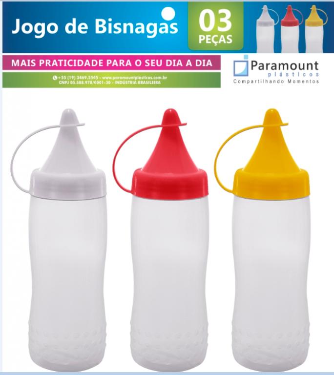 PARAMOUNT - JOGO DE BISNAGA COM 3 - UN (727)[F.LINHA]